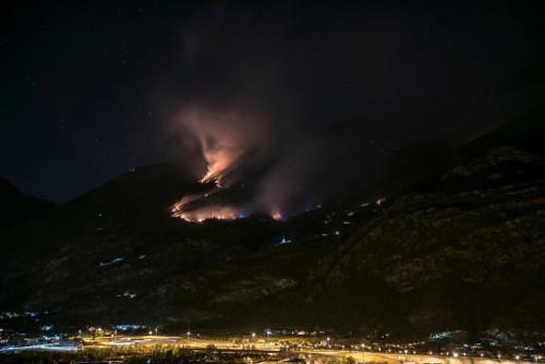 Immagine della notizia Incendi in Valsusa: il nostro contributo