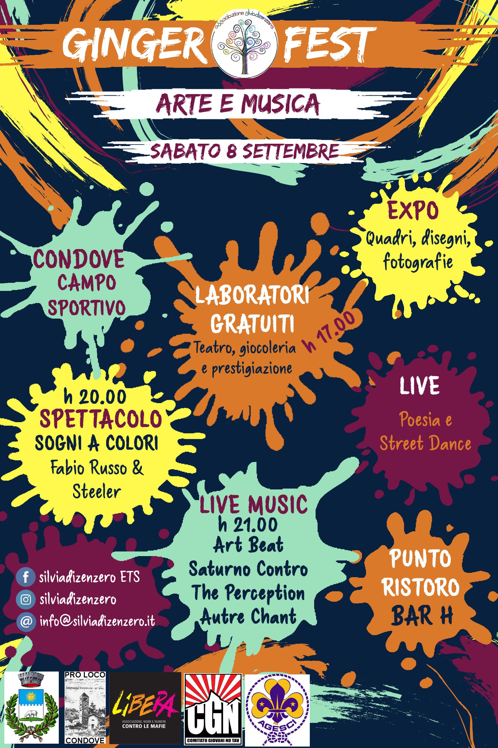 Immagine della notizia Ginger Fest – Arte e Musica