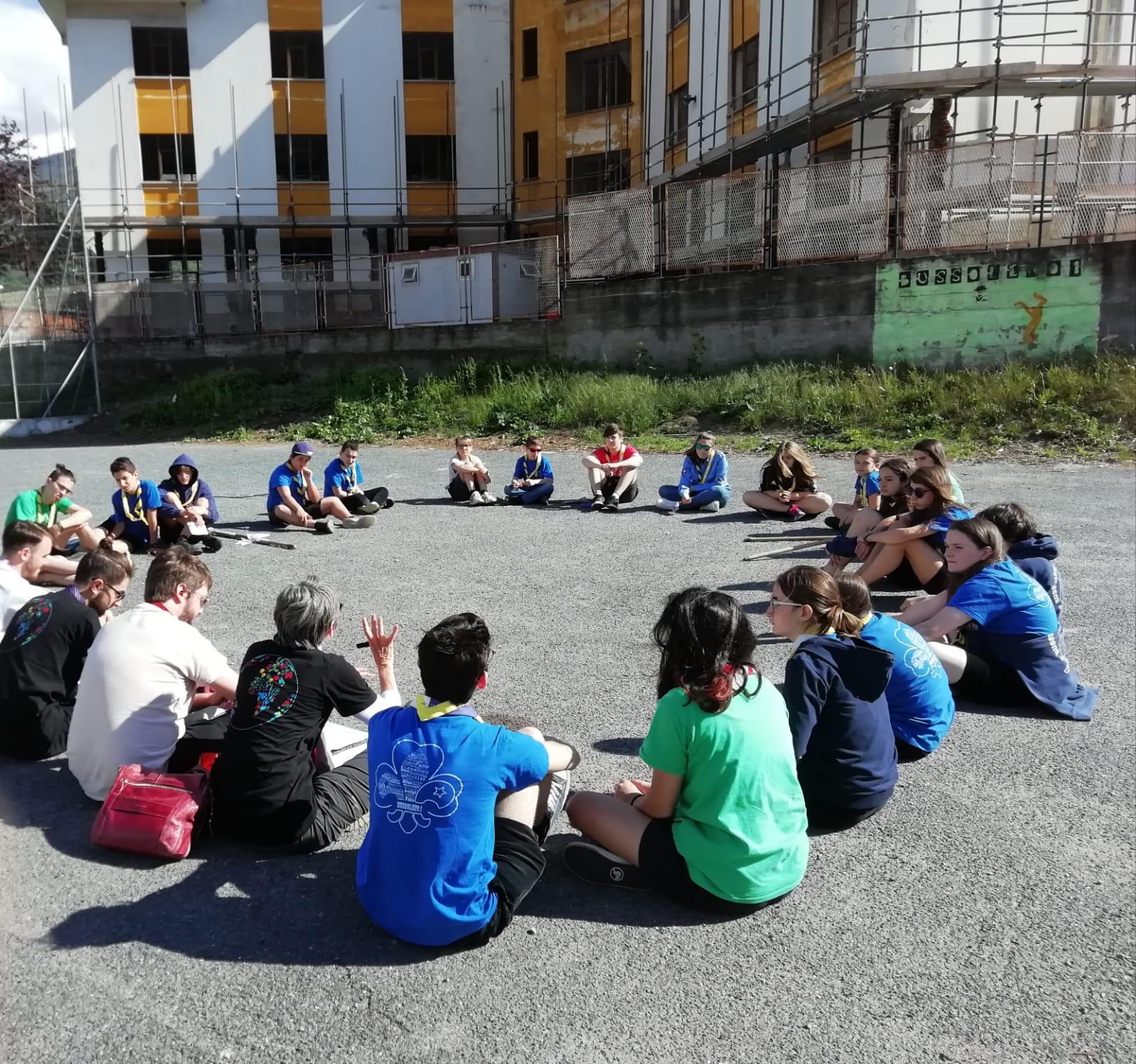 Immagine della notizia Attività con il gruppo scout Bussoleno 1