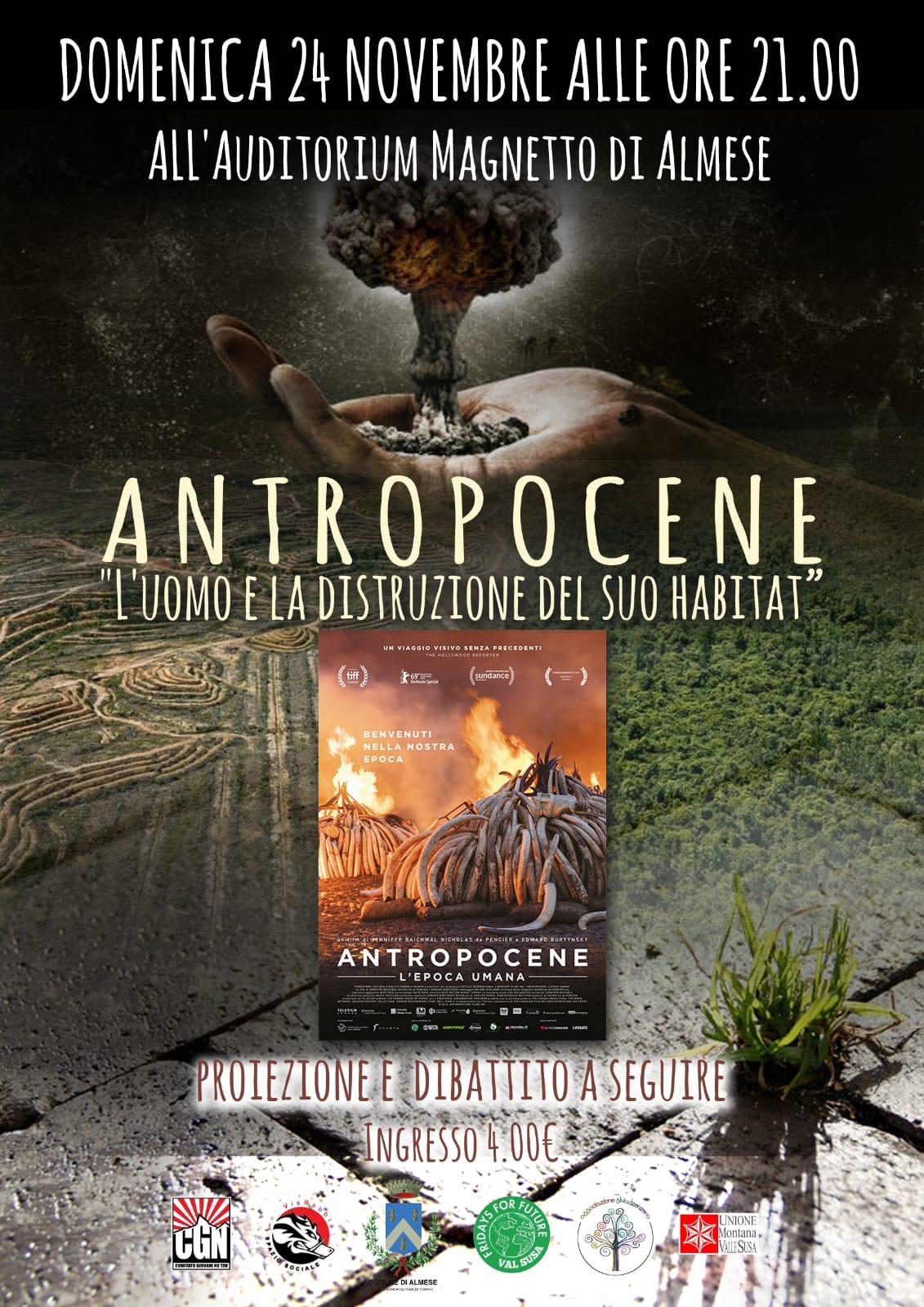 Immagine della notizia Docu-film Antropocene in prima visione