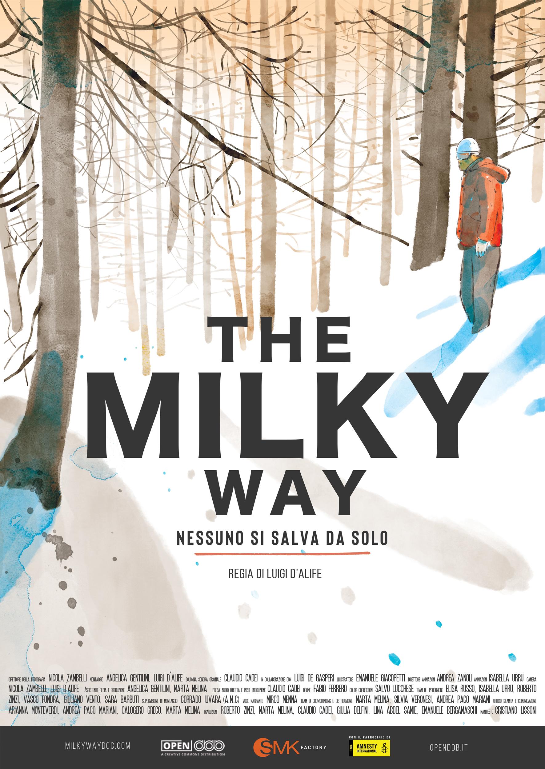 """Immagine della notizia Proiezione di """"The Milky Way – Nessuno si salva da solo"""""""